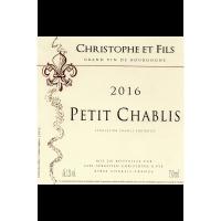 Petit Chablis 2017 D. Sébastien Christophe