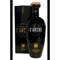 Whisky D ' Arche Blended Malt Whisky 5 ans d' âge / ETUI / Distillé et vieilli en Ecosse, affiné France fûts Sauternes