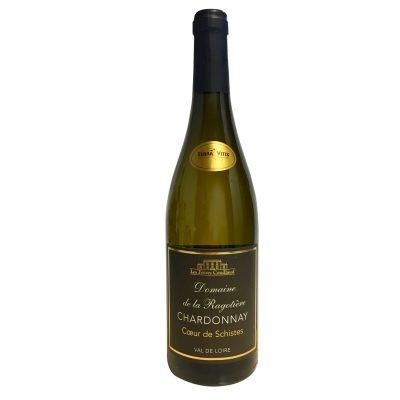 """IGP Val de Loire 2016 Chardonnay """" Coeur de Schistes """" Domaine de la Ragotière / Les Frères Couillaud"""