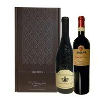 Coffret 2 bouteilles 75cl Vins de Légende