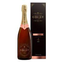 Champagne Collet Brut Rosé N.M. / Etui - Promo