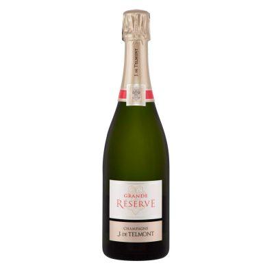 """Champagne Brut """" Grande Réserve """" J. de Telmont N.M."""