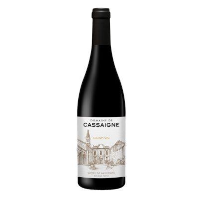 IGP Côtes de Gascogne Rouge 2018 Domaine de Cassaigne / Cave Plaimont