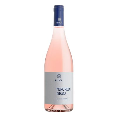 "Minervois Rosé 2019 "" Mercredi 12h30 "" La Grande Tradition Domaine Pujol"