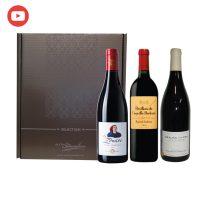 Coffret Vins de Prestige du vignoble français - 3 bouteilles 75cl