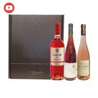 Coffret Les Grands Rosés de France - 3 bouteilles 75cl