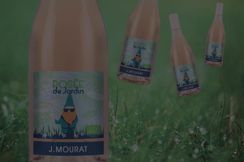 Offre Spéciale Web : IGP Val de Loire Rosé « Rosée de Jardin » 2019 J. Mourat
