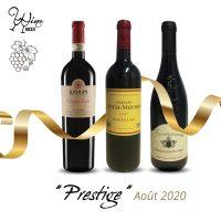 Abonnement Prestige 3 bouteilles 75cl / 1 mois