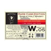Belgique Whisky Single Malt 8 Years Single Cask