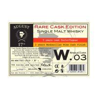 Belgique Whisky Single Malt 7 Years Single Cask