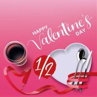 Sélection  4 demi-bouteilles pour accompagner votre repas de la Saint Valentin