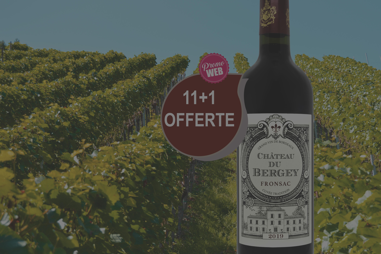 Offre spéciale Web : Fronsac 2019 Château du Bergey