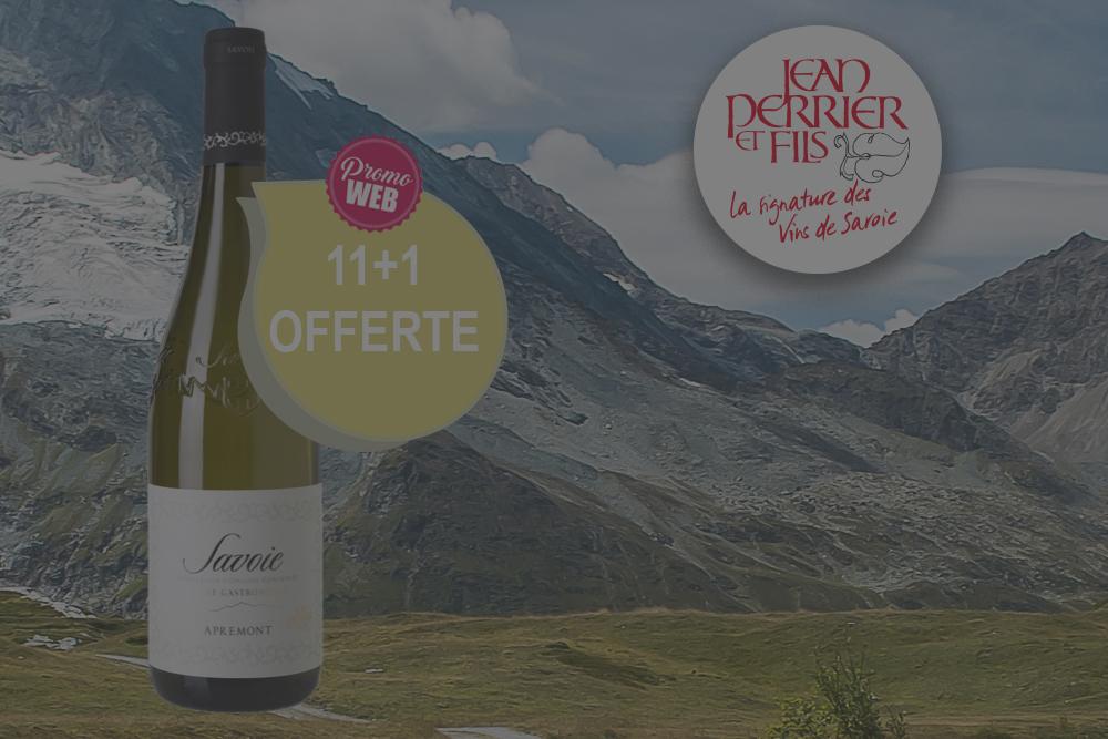 Offre spéciale Web : Savoie Apremont 2020 Jacquère D. Jean Perrier et Fils