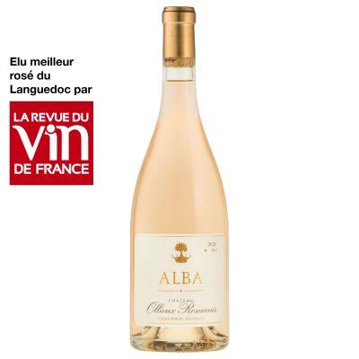 """Corbières Rosé """" Alba """" 2020 Château Ollieux Romanis"""