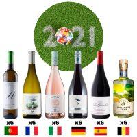 Le pack du supporter prévoyant - 6x6 bouteilles à déguster devant l'Euro 2021