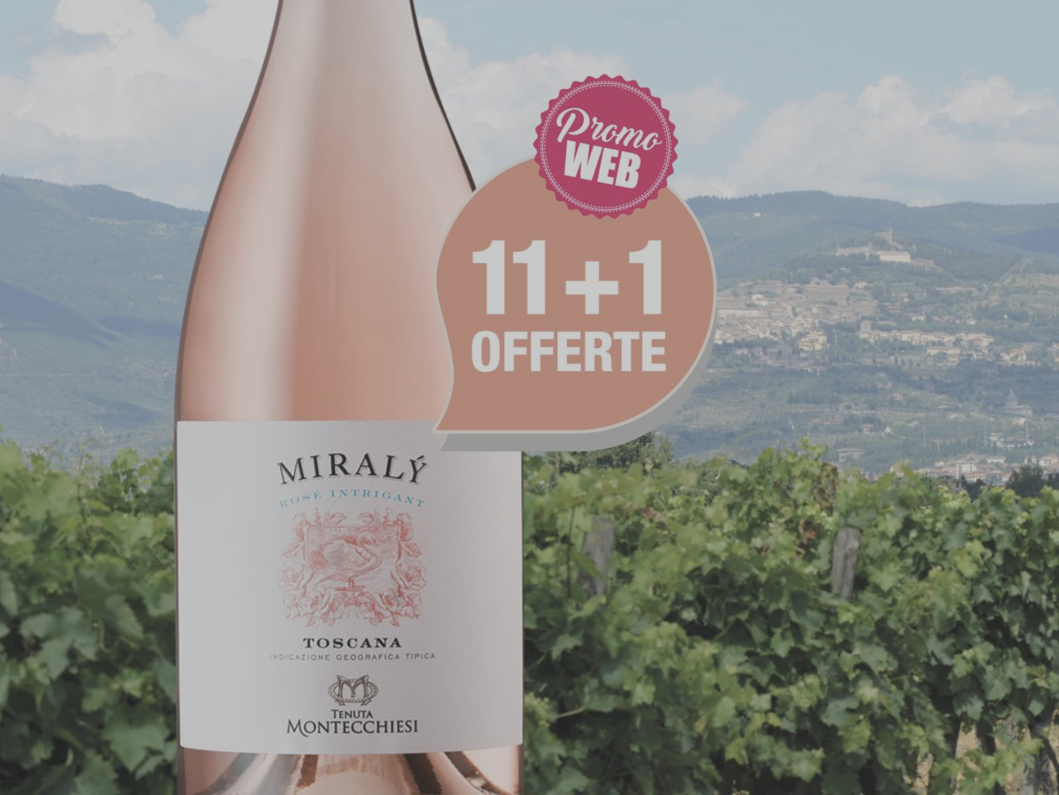 Offres Spéciales Web : Italie IGT Toscana Rosé 2020