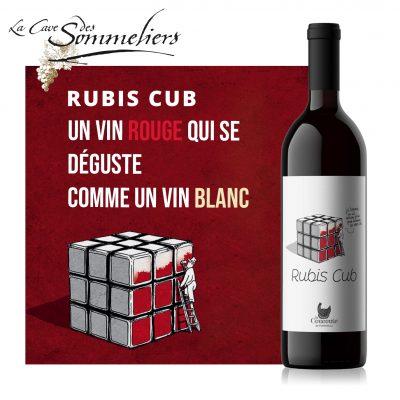 Rubis Cub : l'histoire d'un vin rouge qui se déguste Comme Un Blanc !!!