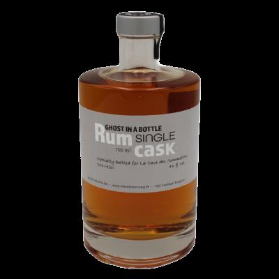 "Rum "" Single Cask "" 6 ans d'âge Trinidad & Tobago "" Ghost in a Bottle """