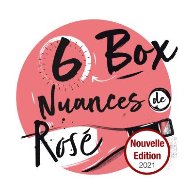 """Box """"6 Nuances de Rosé"""" - 6 bouteilles 75cl"""