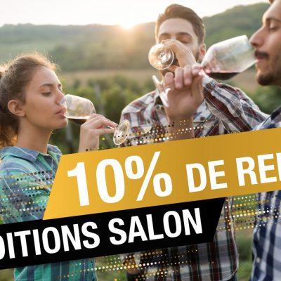 Conditions SALON d'automne : 10% de remise sur + de 200 références du 14 au 24 Octobre